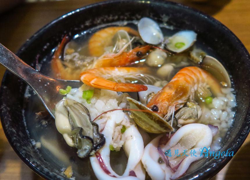 台南海鮮粥