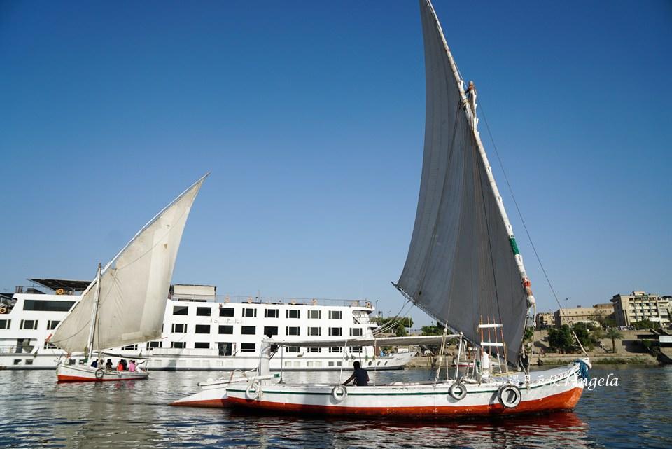 尼羅河風帆船