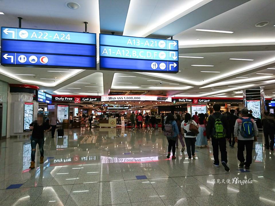 杜拜機場購物