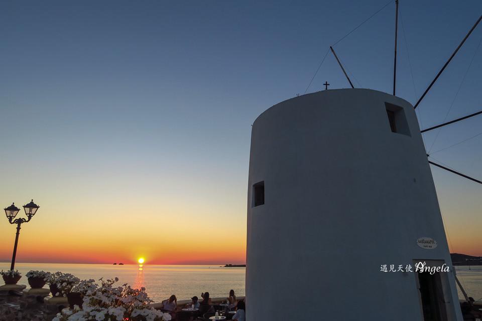 paros海灘夕陽