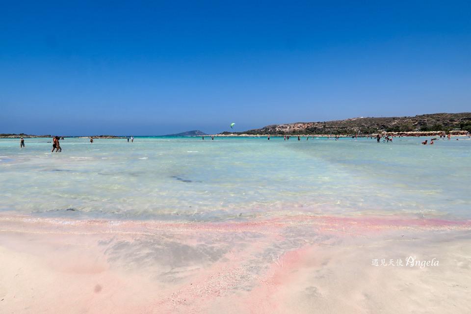 克里特島粉紅沙灘