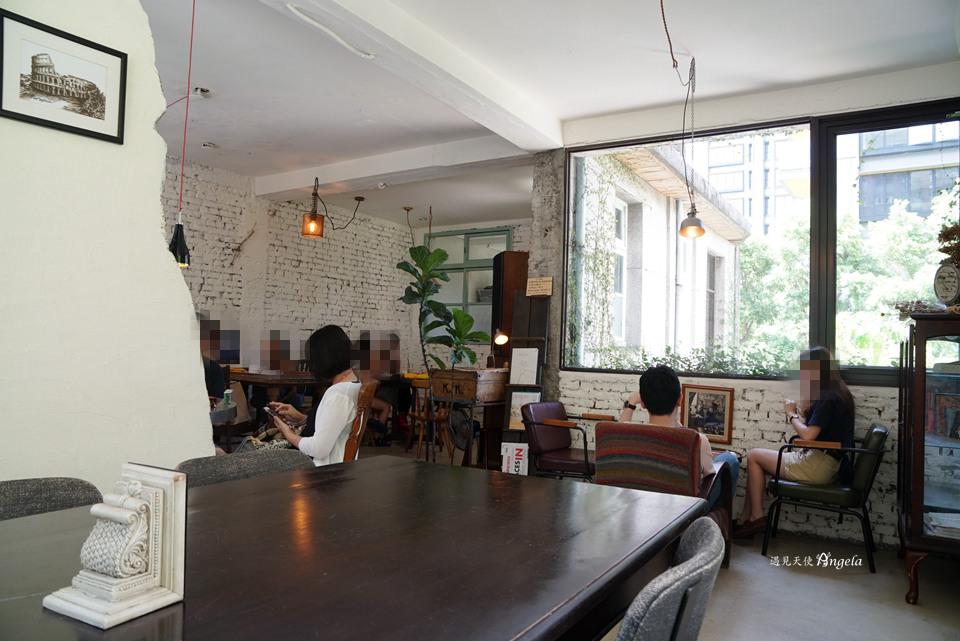 台北大安老宅咖啡
