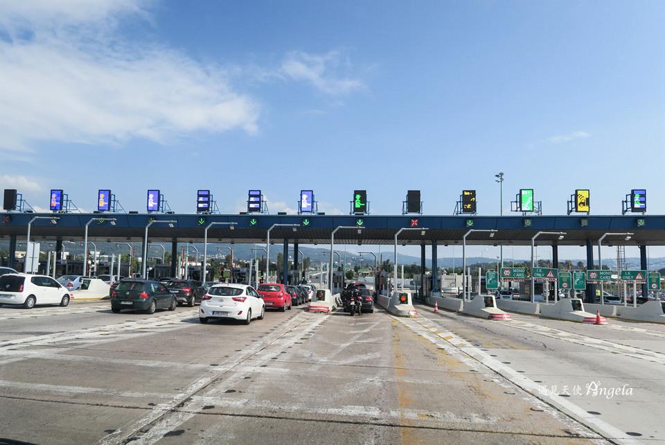 希臘高速公路收費