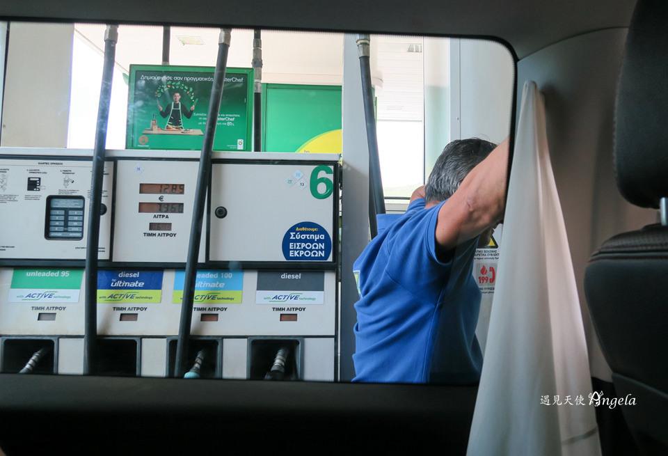 希臘加油站