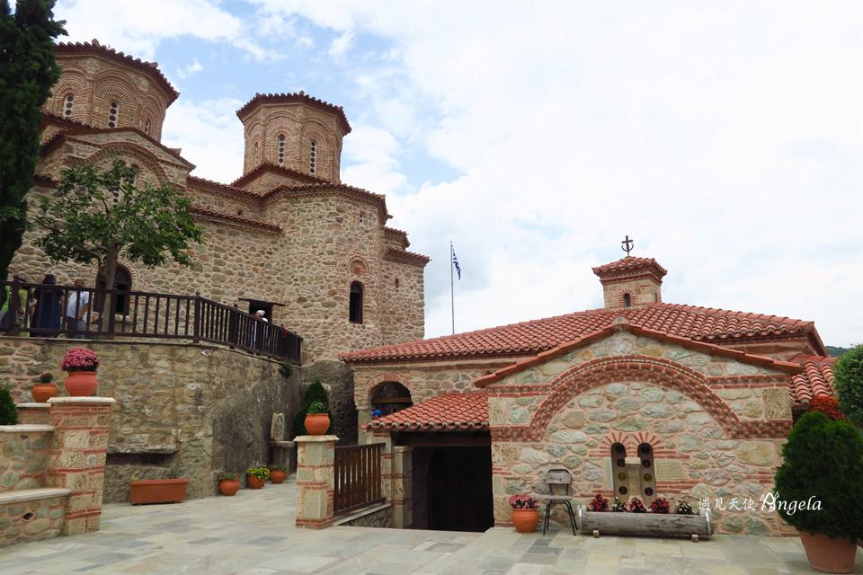 第二大修道院Varlaam monastery