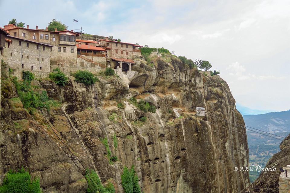 希臘天空之城Great Meteoron Monastery