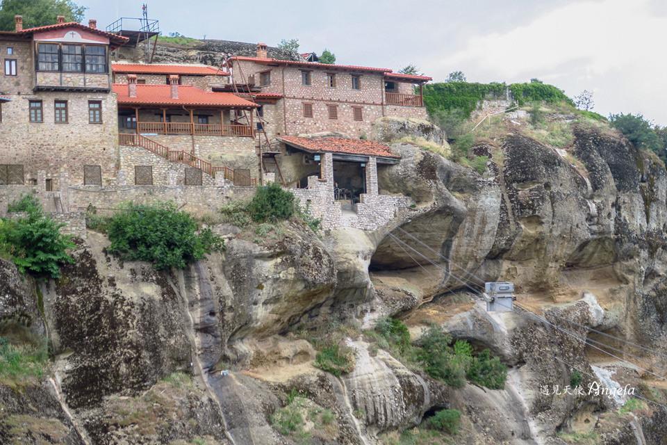天空之城最大修道院Great Meteoron Monastery