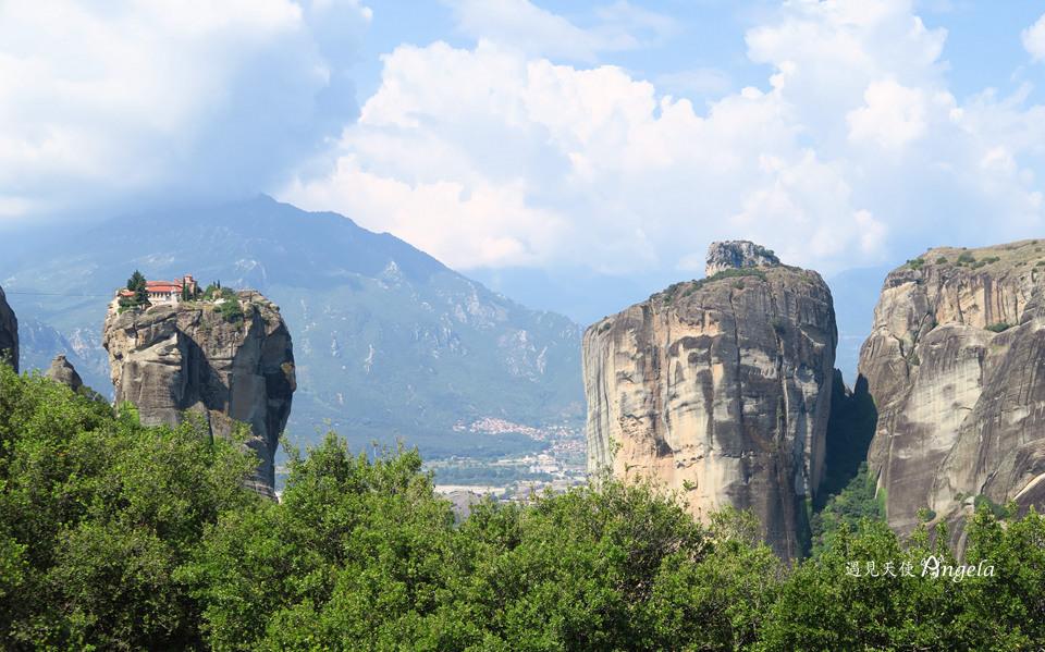 希臘天空之城景觀最好修道院