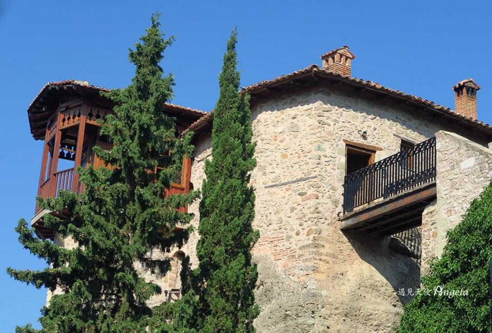 最美修道院Roussanou Monastery