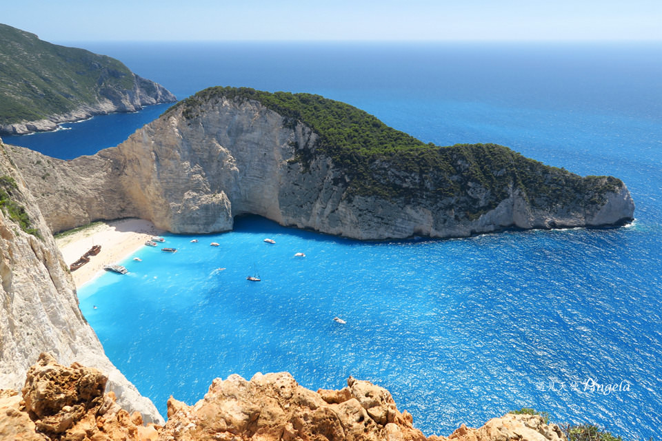 Navagio Beach View