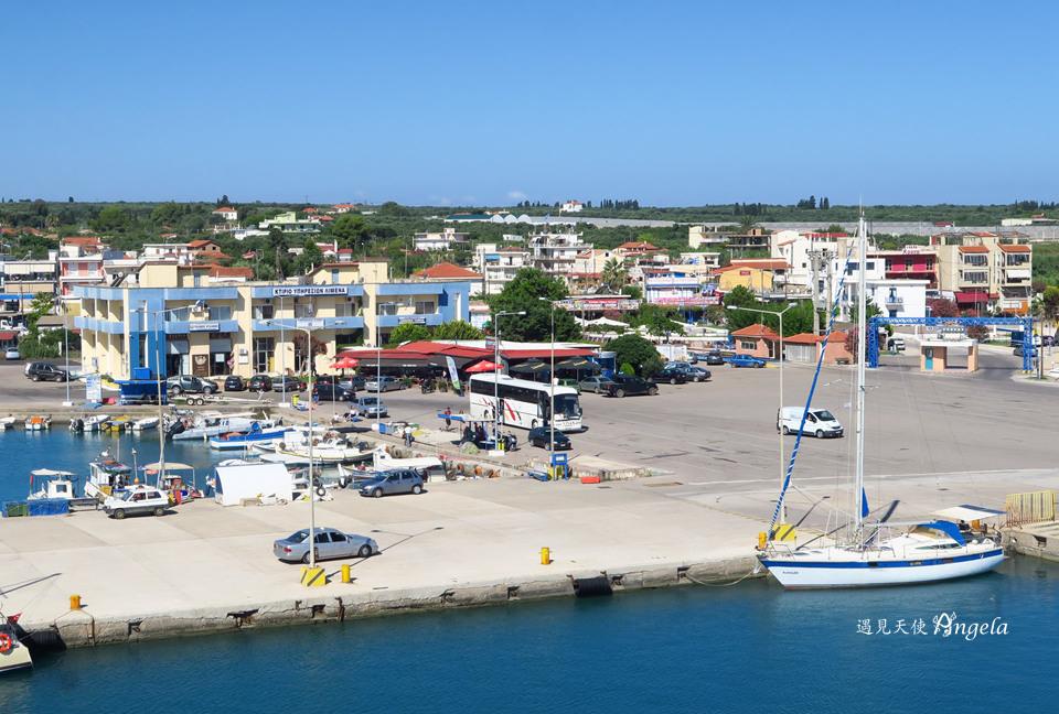 扎金索斯島交通船搭乘碼頭