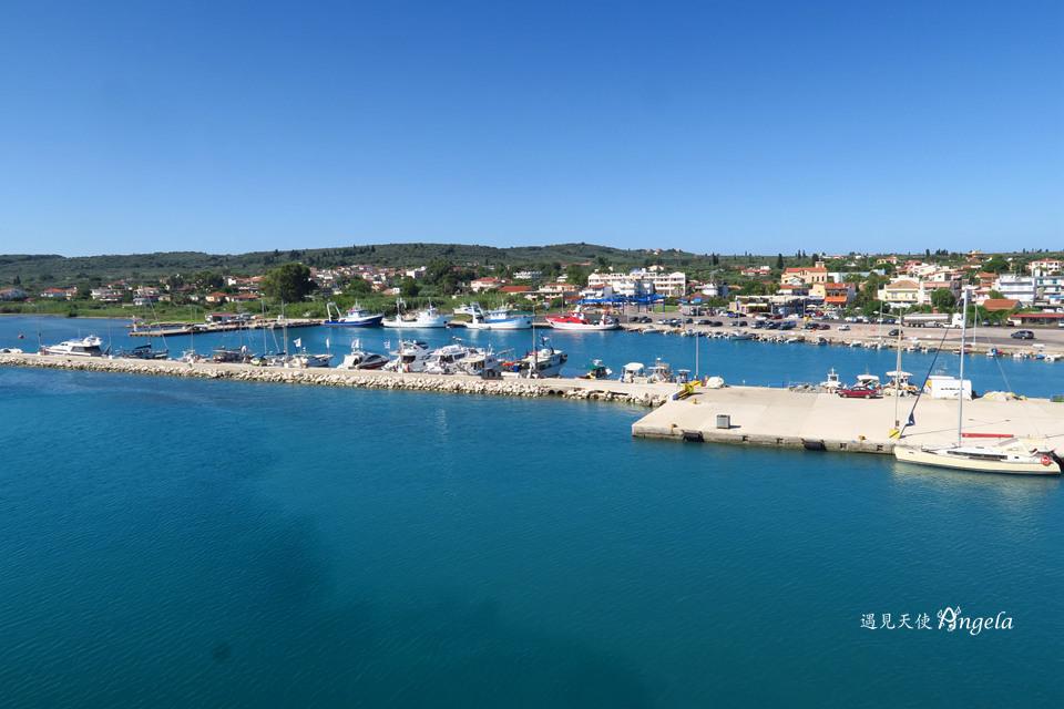 扎金索斯島交通船