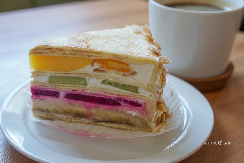 Gather食聚咖啡宜蘭食尚玩家千層蛋糕