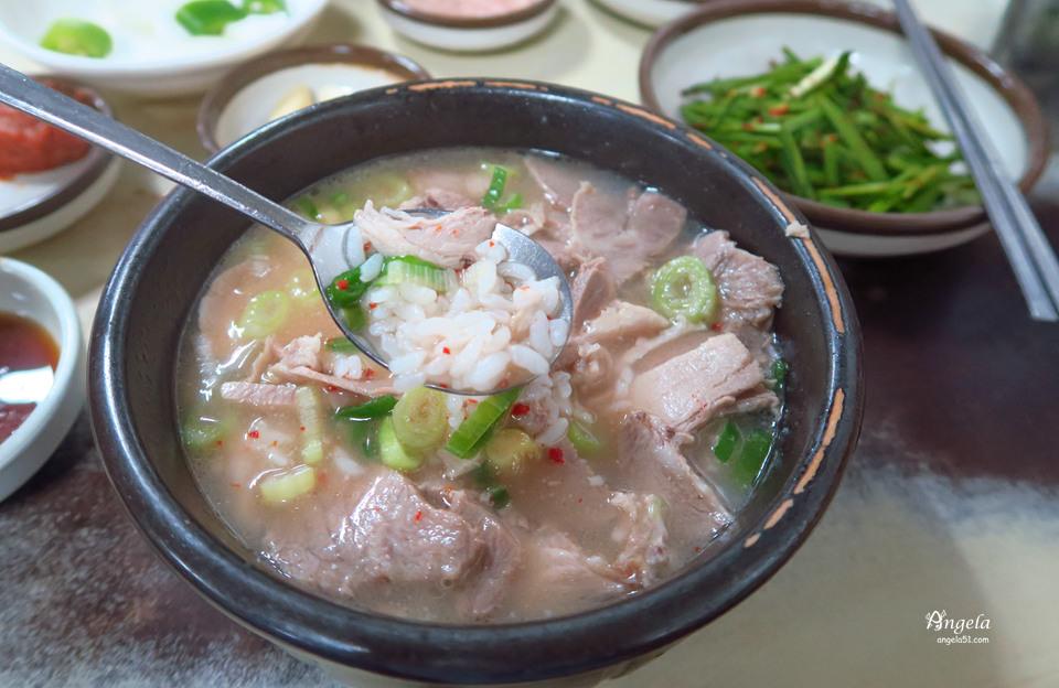 釜山西面豬肉湯飯