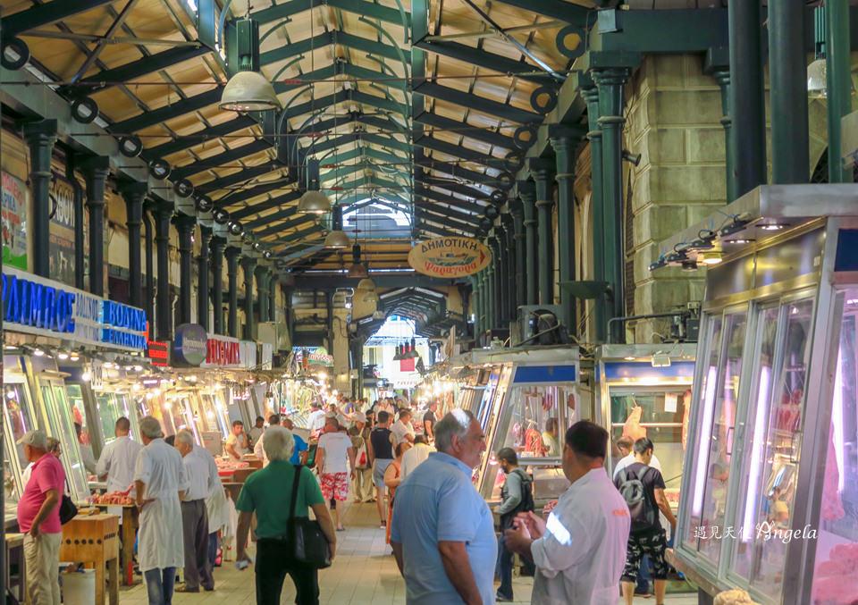 Athens central market雅典中央市場