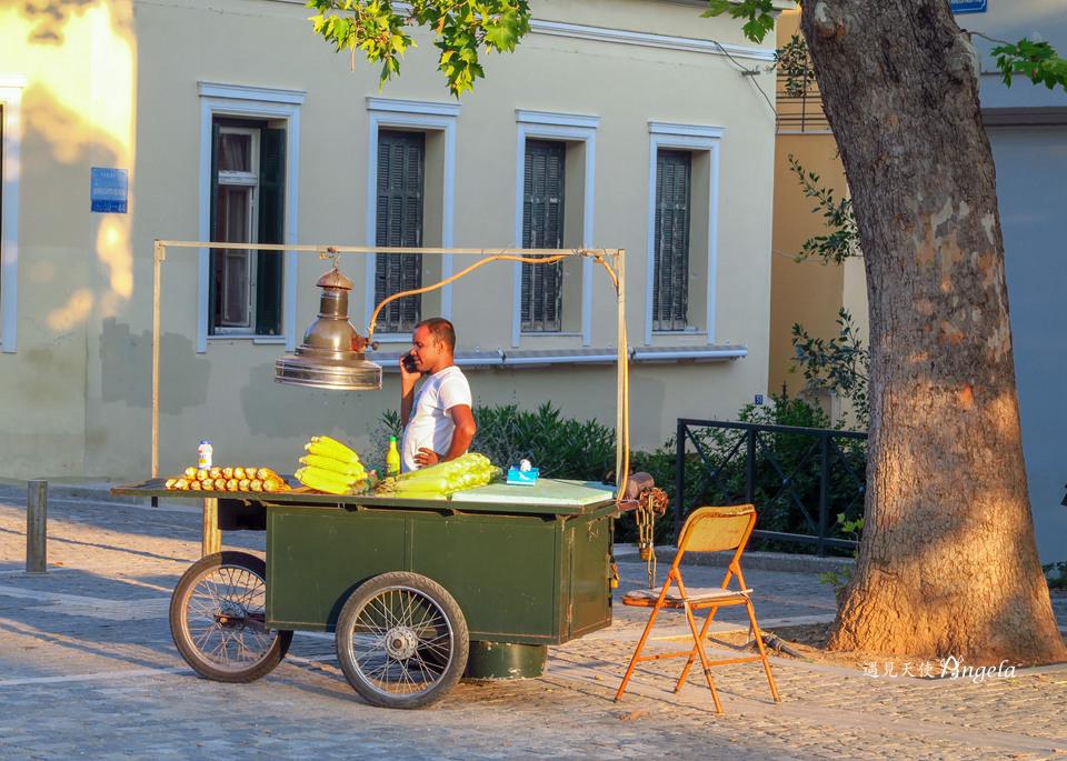 雅典街景日常