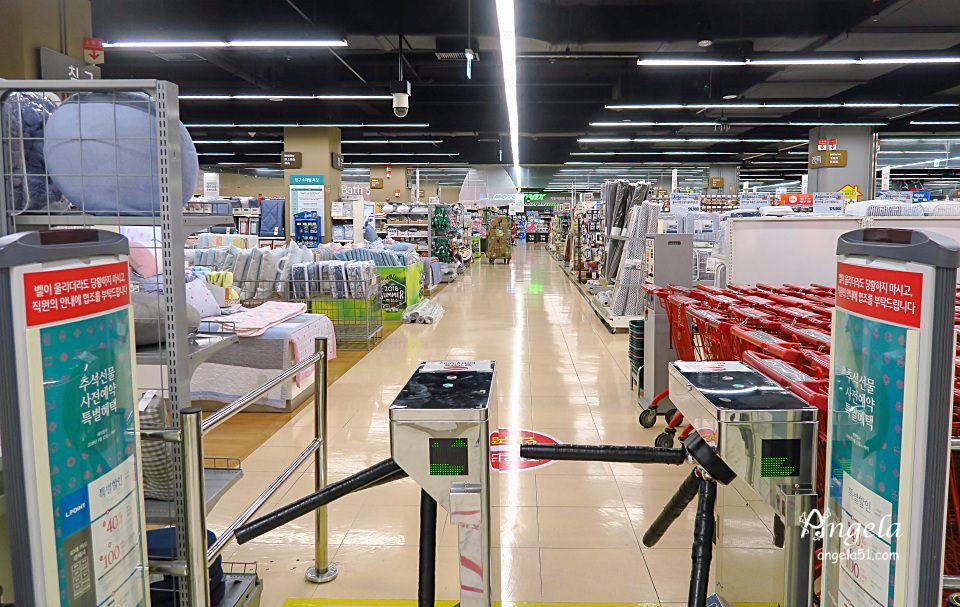 韓國樂天超市購物