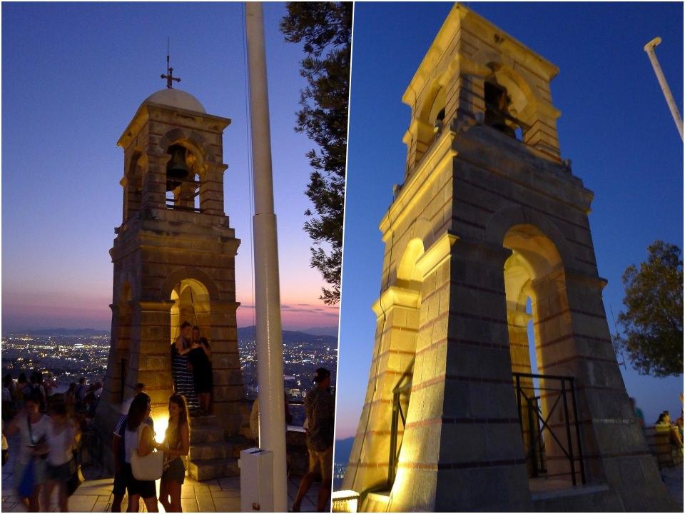 Lykavittos Hill利卡維多斯山丘觀景平台