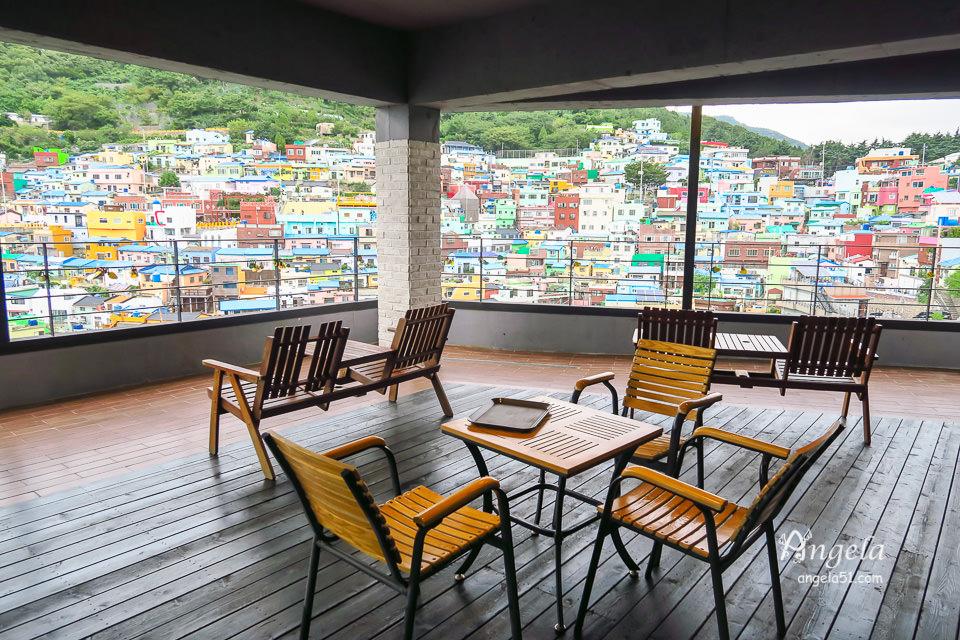 甘川洞文化村咖啡廳