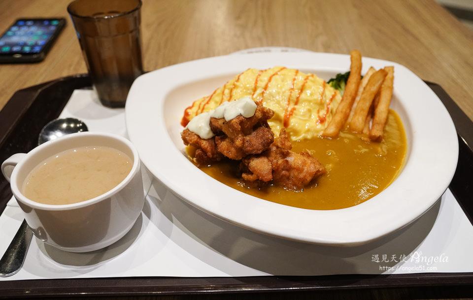 南港中信美食 好食城Q丸和洋食堂蛋包飯