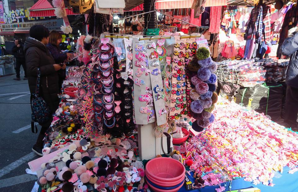 南大門市場飾品