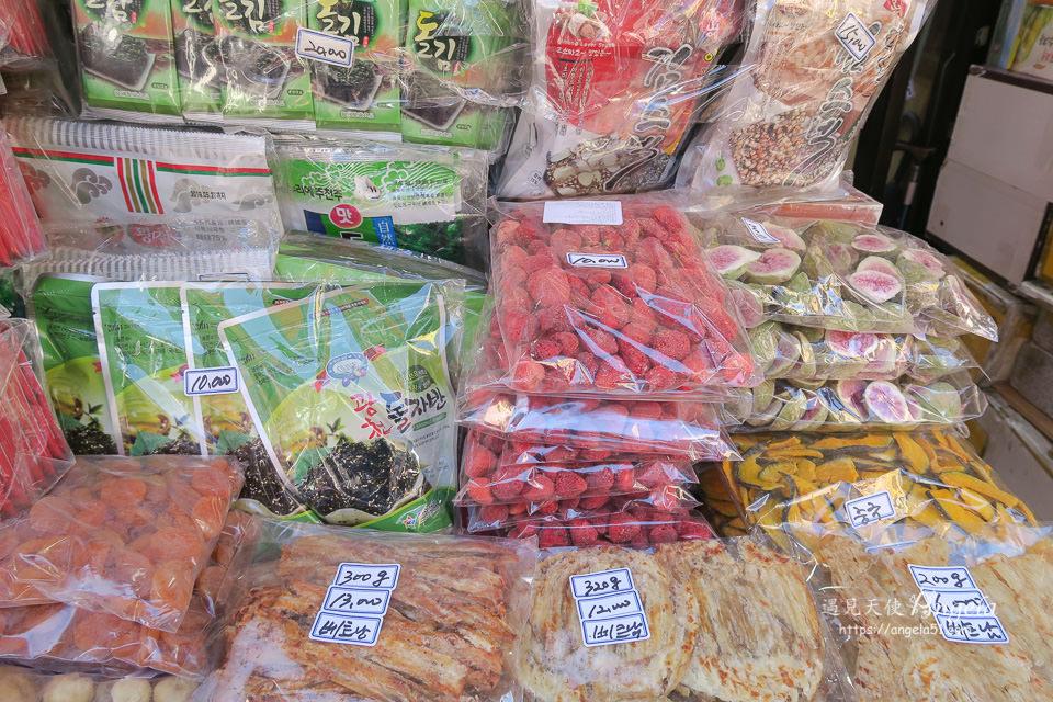 南大門市場草莓乾