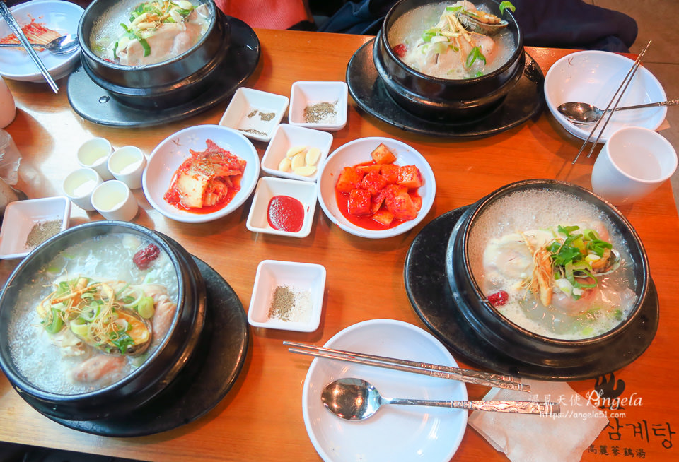 首爾人蔘雞湯米其林推薦