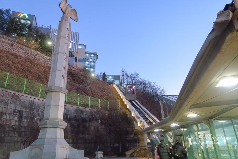首爾塔南山電梯