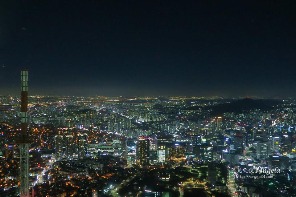 首爾塔夜景