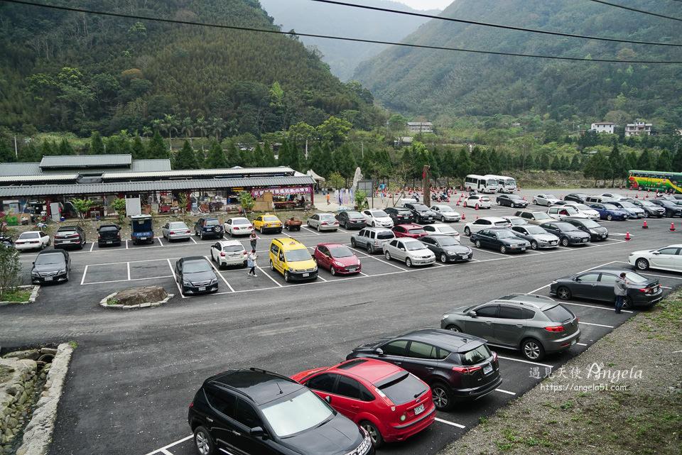 青蛙石停車場