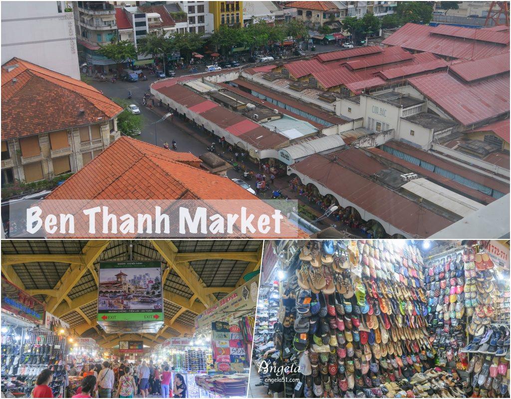 胡志明市濱城市場