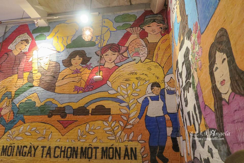 胡志明壁畫餐廳 Propaganda 餐酒館