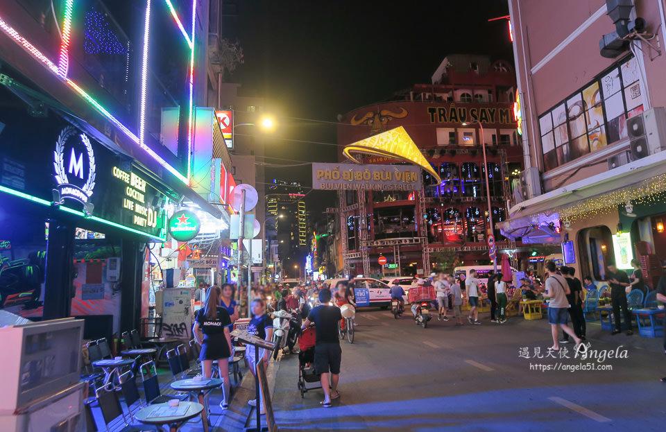 Khu phố Phạm Ngũ Lão 范五老街走看胡志明市夜生活