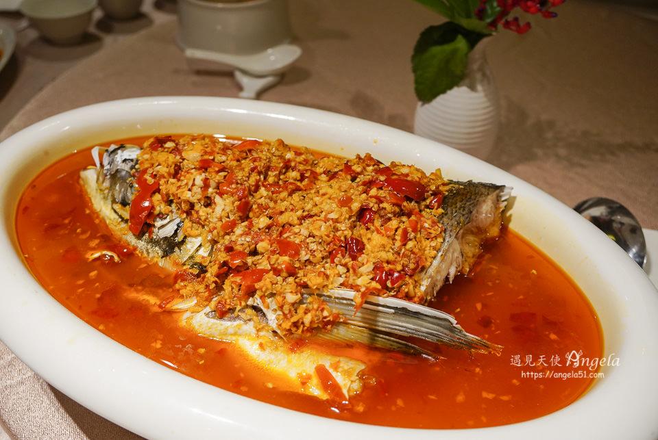 大地酒店奇岩一號餐廳必吃推薦剁椒魚頭