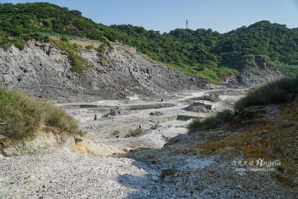 北投景點硫磺谷
