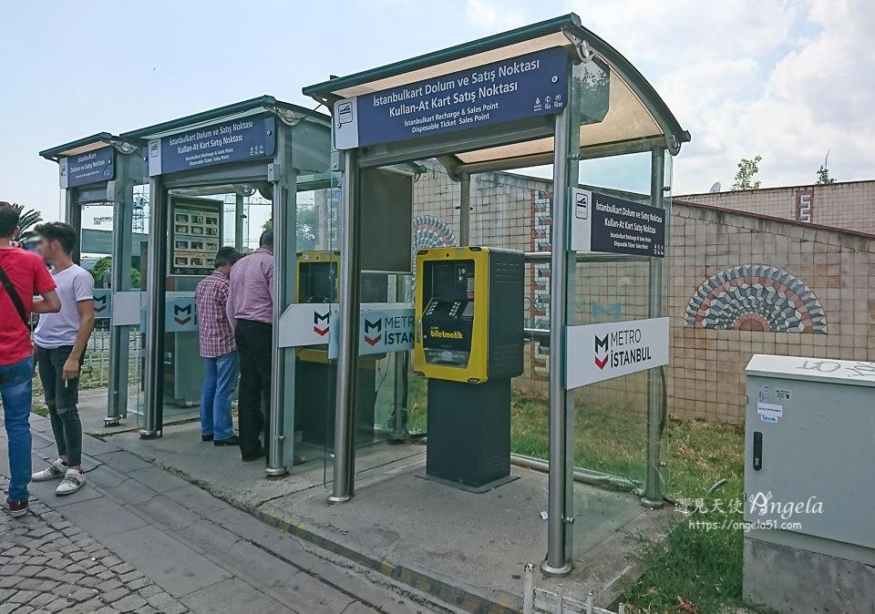 伊斯坦堡交通卡購買與儲值