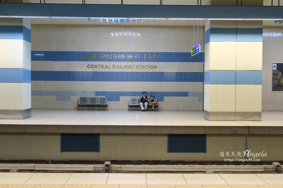 sofia 地鐵中央火車站