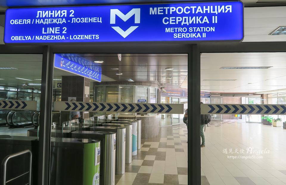 sofia 地鐵交通