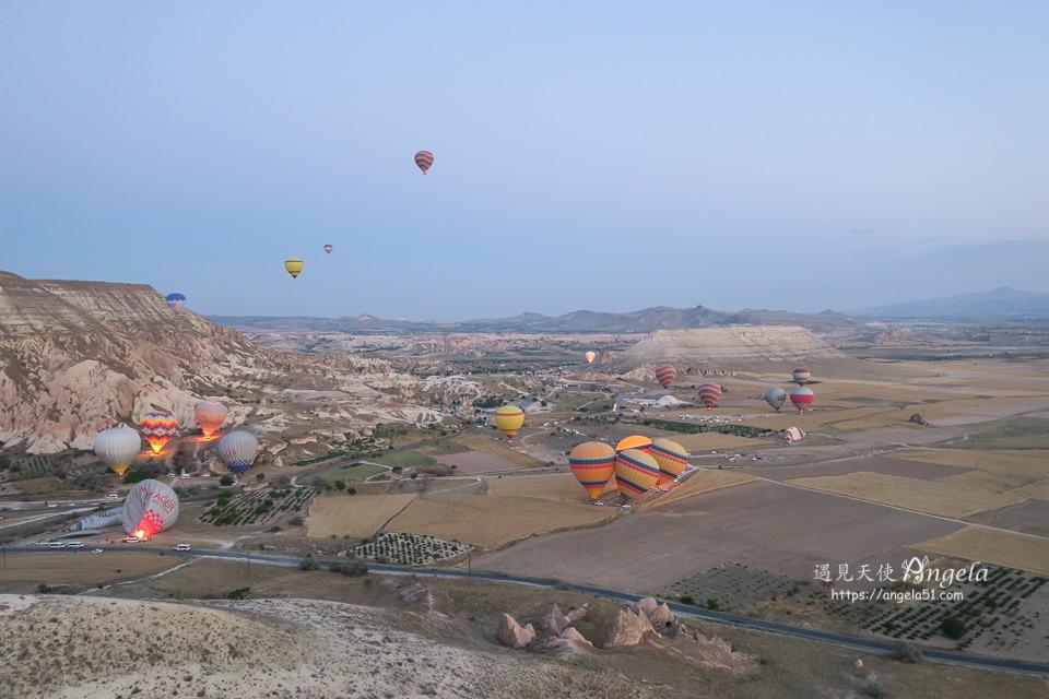土耳其卡帕多奇亞熱氣球