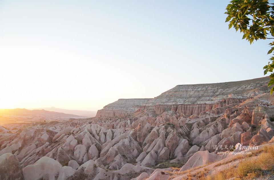 卡帕多奇亞玫瑰谷夕陽