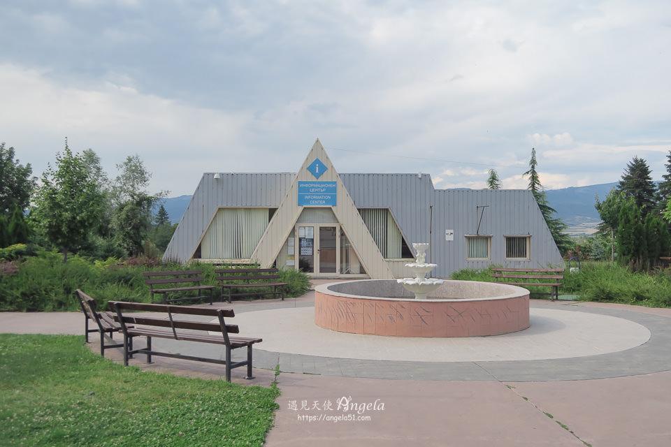 保加利亞sapareva banya 溫泉小鎮遊客中心