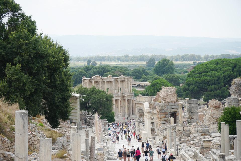 土耳其最美的圖書館遺跡以弗所