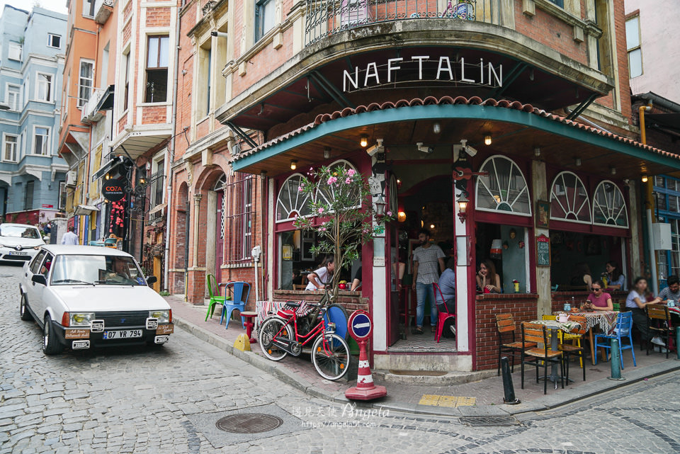 伊斯坦堡balat文青區Cafe Naftalin K