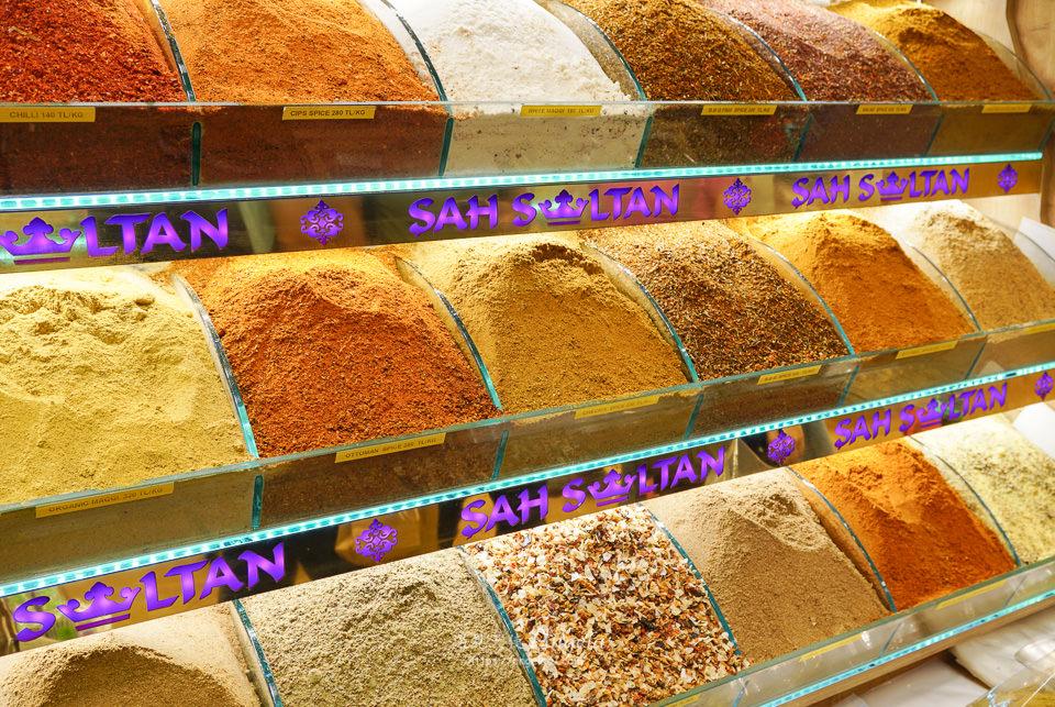 伊斯坦堡購物埃及香料市集
