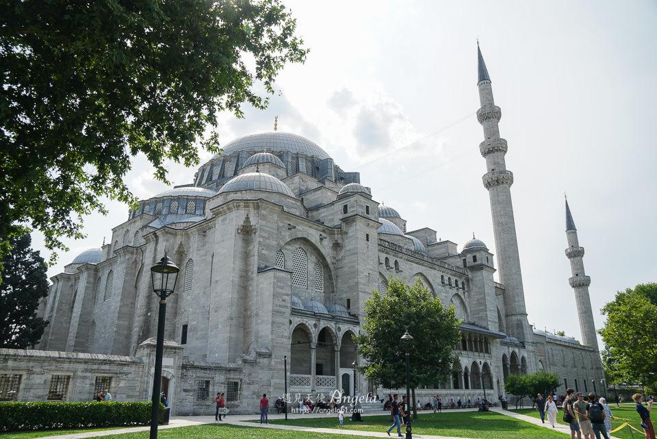 白色清真寺蘇萊曼尼耶清真寺