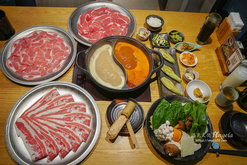 中山火鍋吃到飽どん亭Don tei壽喜燒上極鍋物