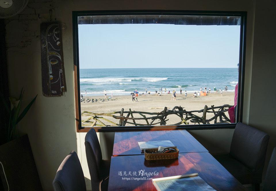 北海岸海景咖啡廳老梅海灣綠洲咖啡