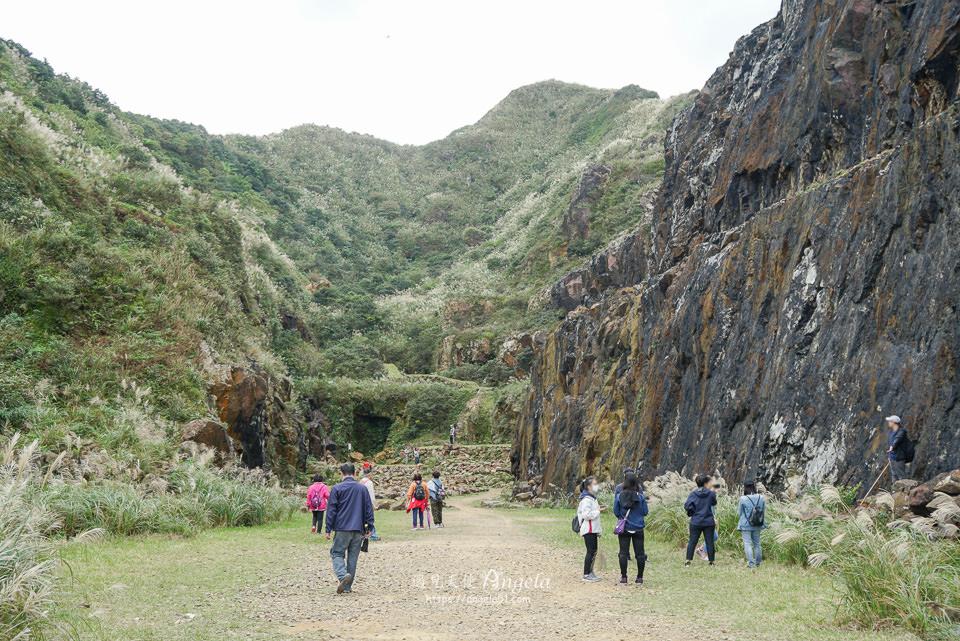 金瓜石地質公園石頭陣