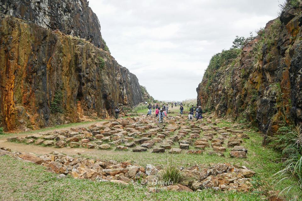 金瓜石地質公園石陣