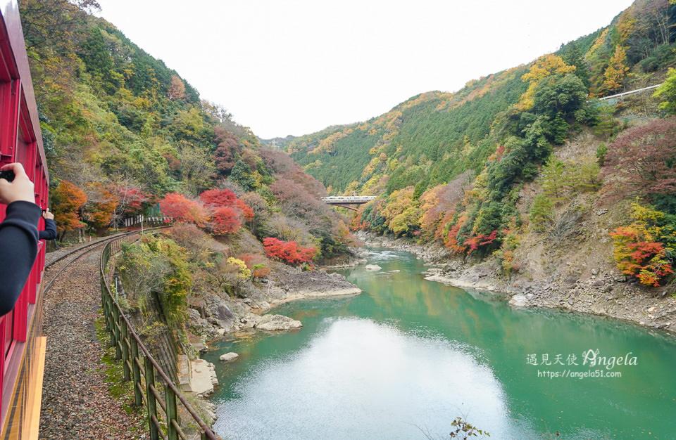 嵐山小火車賞楓